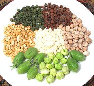 Kabuli Chana Plant Chickpeas