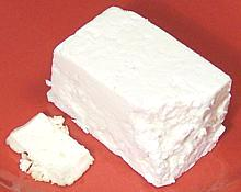 white crumbly mexican cheese