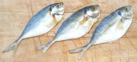 Three Tiny Dried Fish